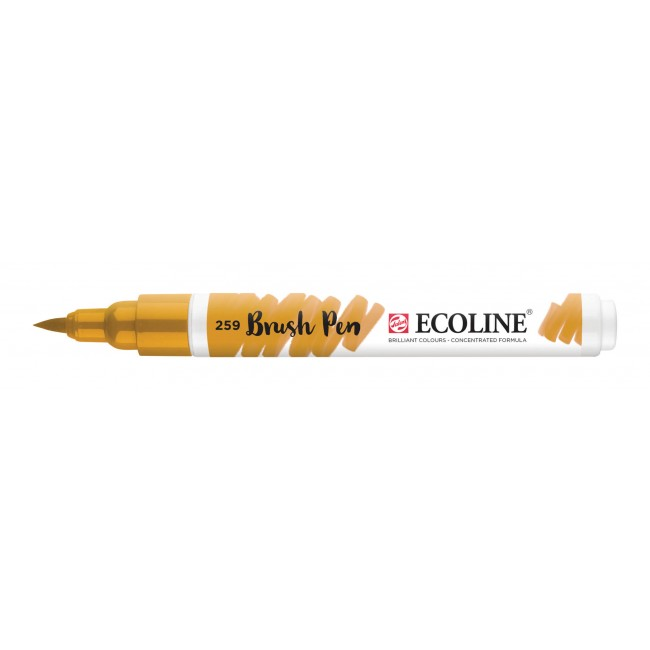 Rotulador Ecoline Brush Pen 259 Amarillo de Arena