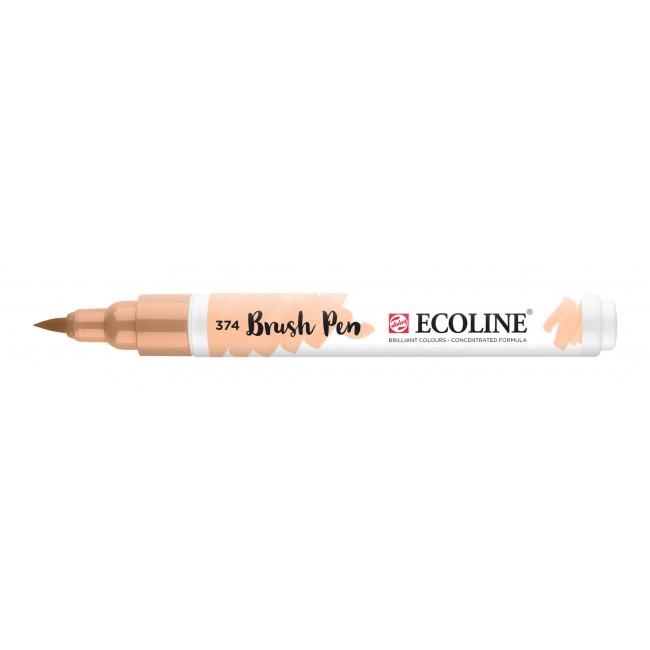 Rotulador Ecoline Brush Pen 374 Beige Rosado