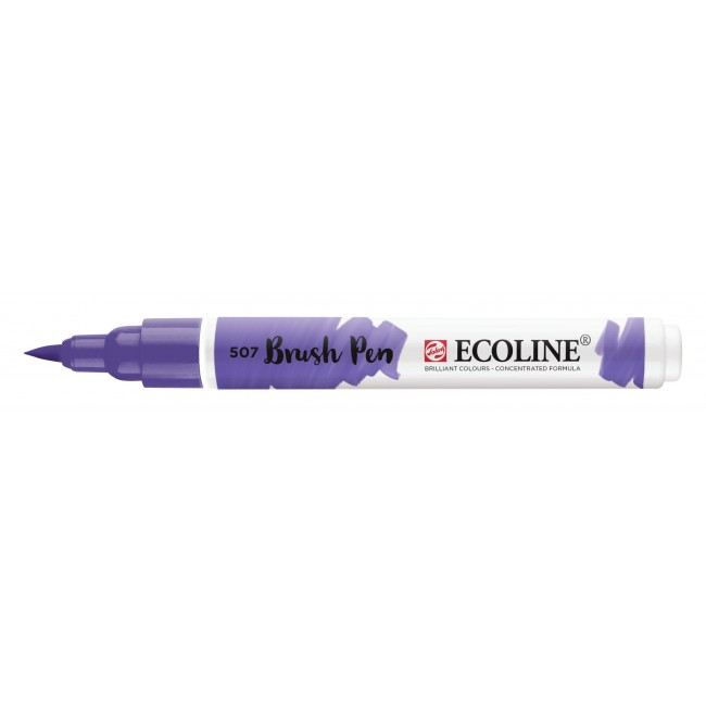 Rotulador Ecoline Brush Pen 507 Ultramarino Violeta