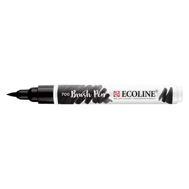 Rotulador Ecoline Brush Pen 700 Negro