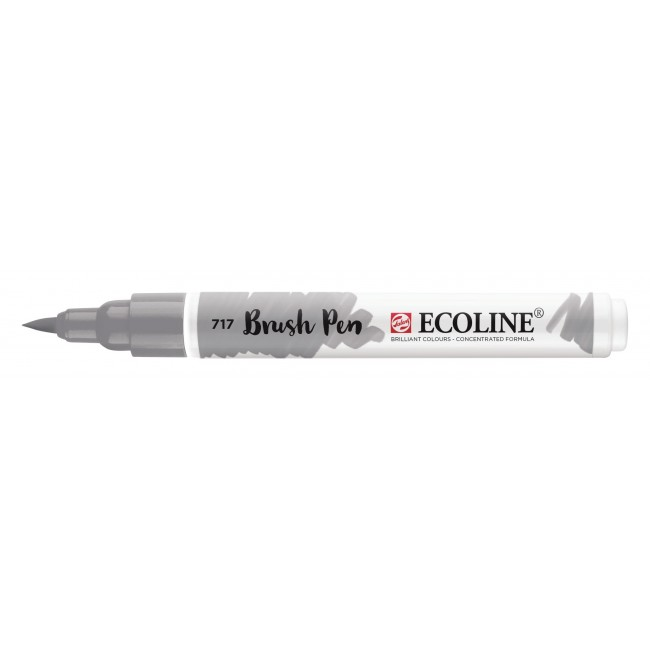 Rotulador Ecoline Brush Pen 717 Gris Frío