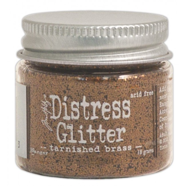 Glitter Tarnished Brass