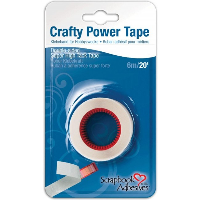Recarga cinta de doble cara Crafty Power Tape