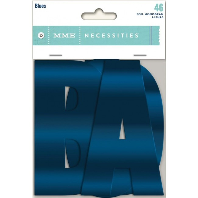 Necessities Monogram alphas Blues