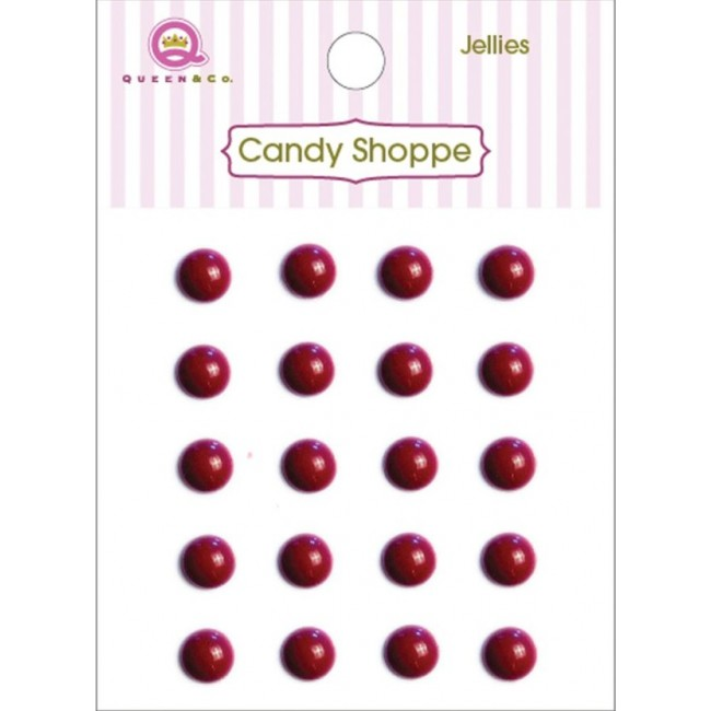 Candy Shoppe Jellies Pequeños Raspberry