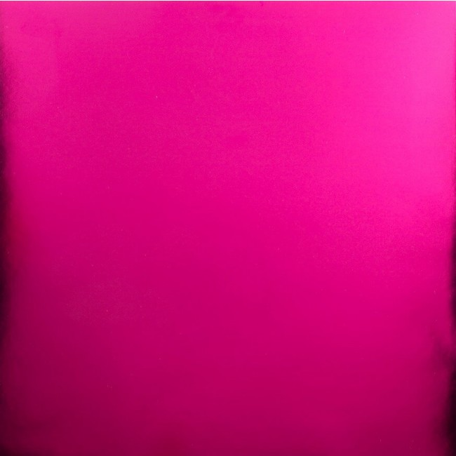 Cartulina lisa metalizada 12x12 - Hot Pink
