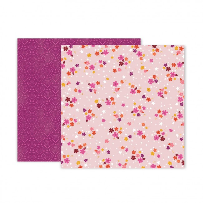 Papel Estampado Doble Cara 12x12 Truly Grateful Paige Evans Paper 4
