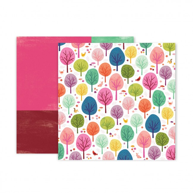 Papel Estampado Doble Cara 12x12 Truly Grateful Paige Evans Paper 7