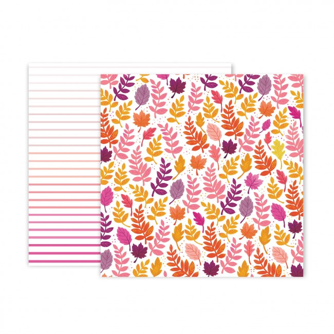 Papel Estampado Doble Cara 12x12 Truly Grateful Paige Evans Paper 23