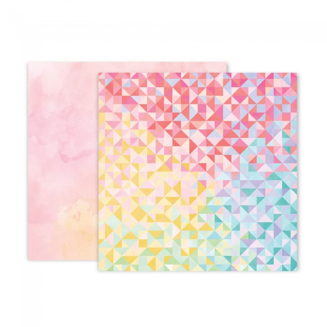 Papel Estampado Doble Cara 12x12 Bloom Street Paige Evans #22