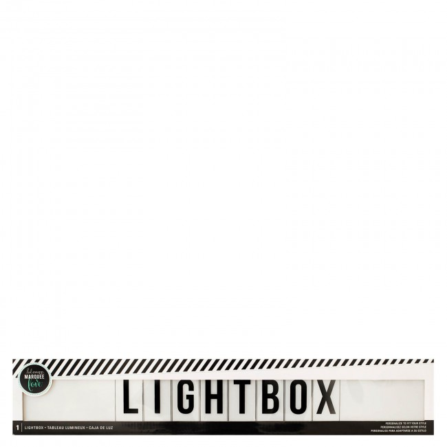 Lightbox Shelf White