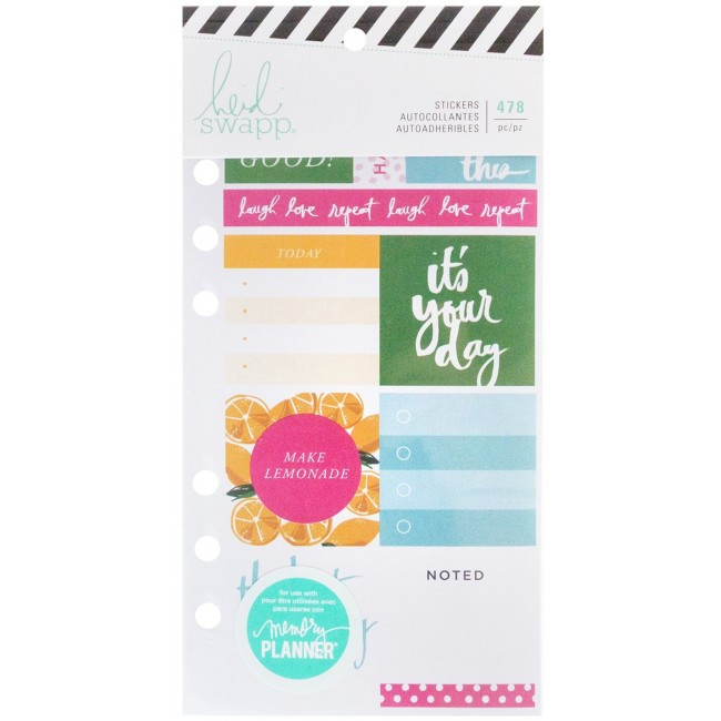 Pegatinas Memory Planner Fresh Start - Playful