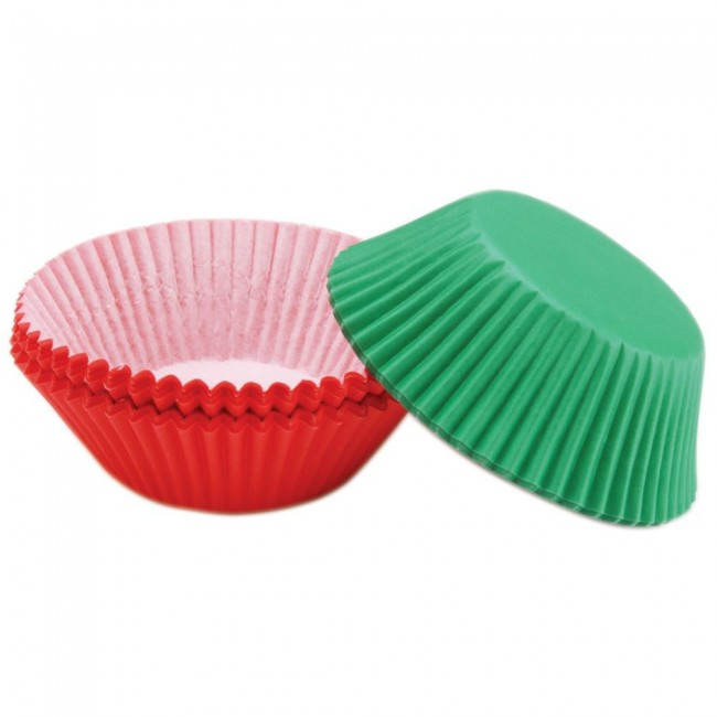 Standart Baking Cups Red/Green
