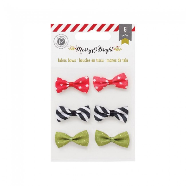 Merry & Bright Fabric Bows