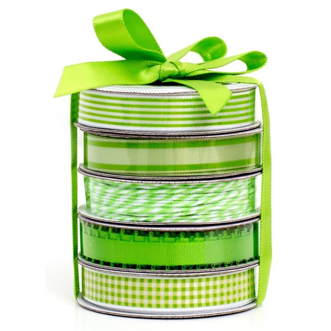 Set Cintas Decorativas   Spring Green