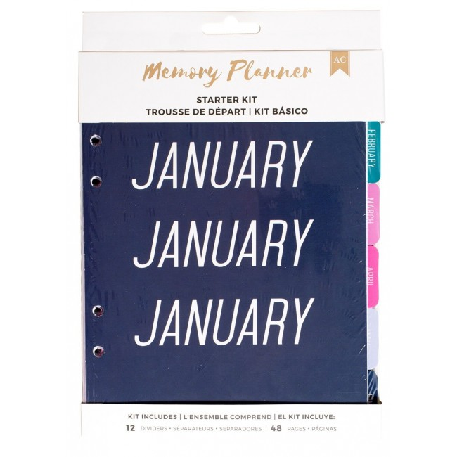 Kit Memory Planner - Marble Crush - Mixed