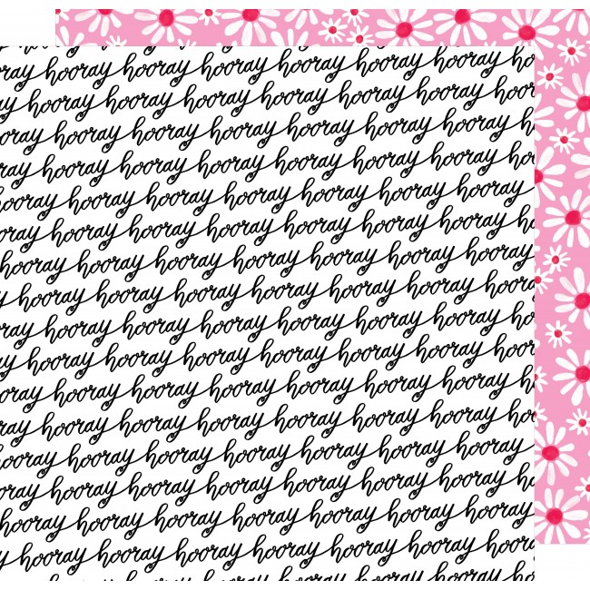 Papel Estampado Doble Cara 12x12 - Stay Colorful - Let's Boogie