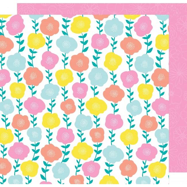 Papel Estampado Doble Cara 12x12 - Stay Colorful - Funkadelic