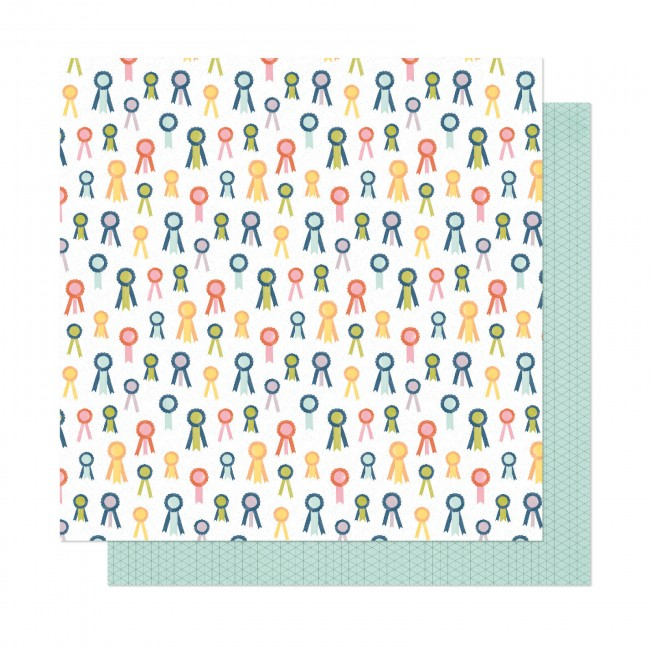 Papel Estampado Doble Cara 12x12 It's All Good Best Ever