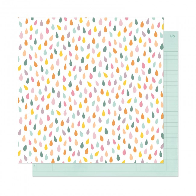 Papel Estampado Doble Cara 12x12 It's All Good Embrace Now