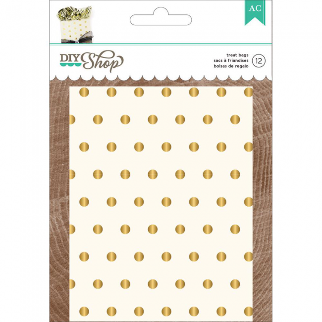 Gold Dots Treat Bags DIY Shop 2