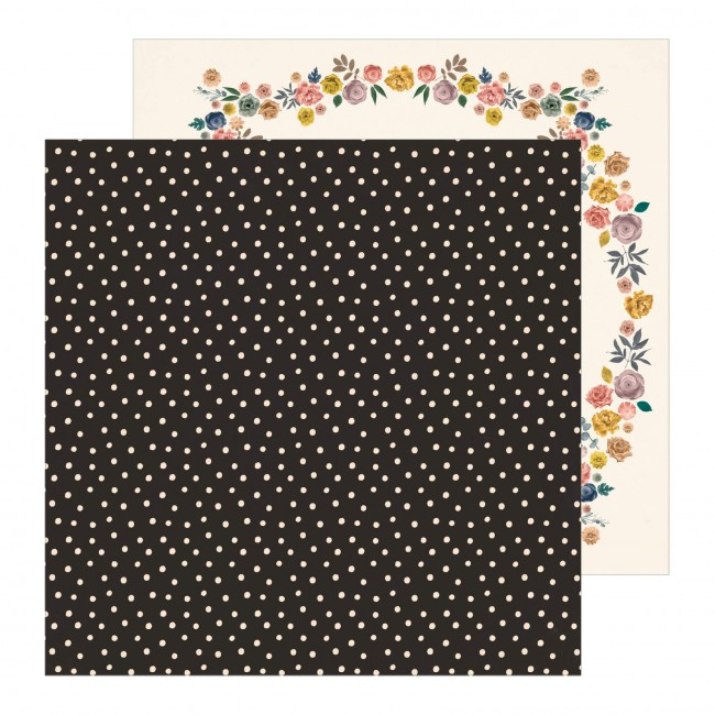 Papel Estampado Doble Cara 12x12 Maggie Holmes Heritage Sincerely