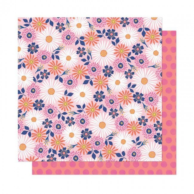 Papel Estampado Doble Cara 12x12 She's Magic Dear Lizzy Imagine