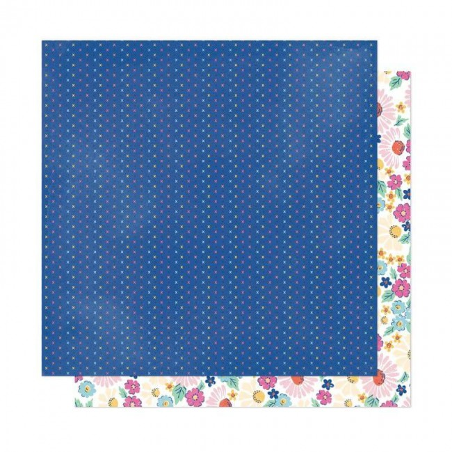 Papel Estampado Doble Cara 12x12 She's Magic Dear Lizzy Sparkle