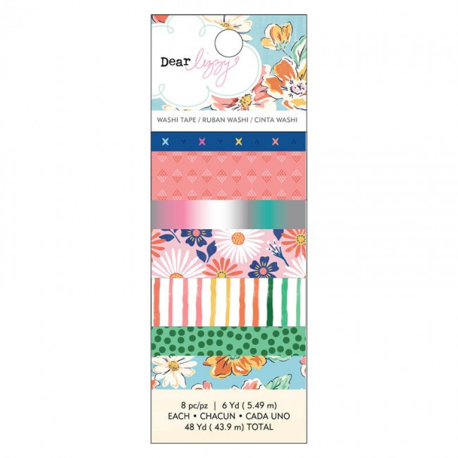 Set de Washi Tape She's Magic Dear Lizzy