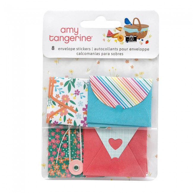 Pegatinas Picnic In The Park Amy Tangerine Envelope
