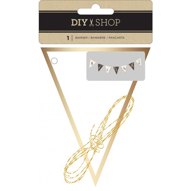 White Banner DIY Shop 3