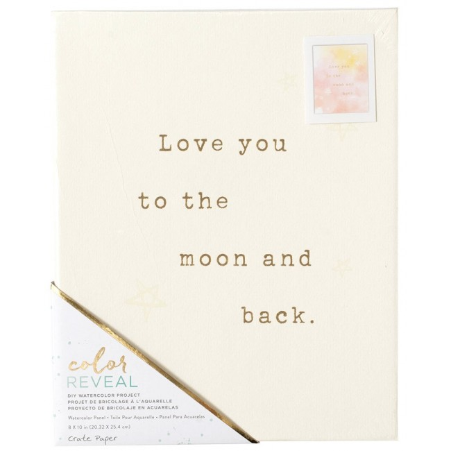 Panel 8x10 Color Reveal - Love You To -30% DESCUENTO