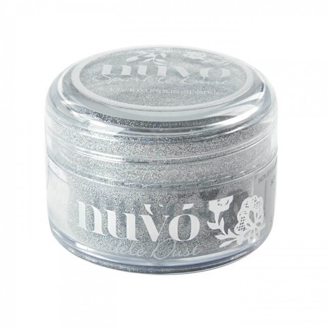 Purpurina Ultra fina Sparkle Dust - Silver Sequin