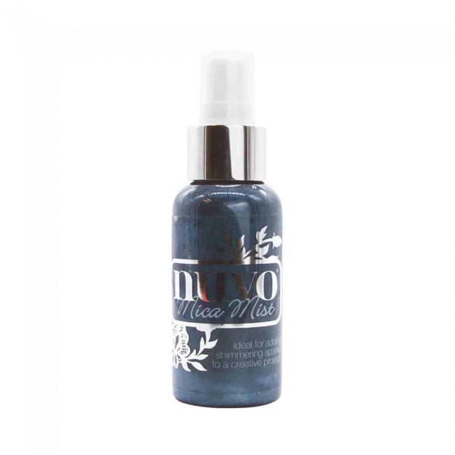 Tinta en Spray Nuvo Mica Mist Midnight Horizon