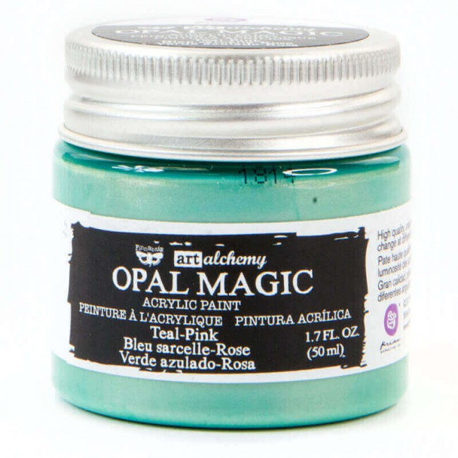 Pintura acrílica Opal Magic Art Alchemy Teal/Pink