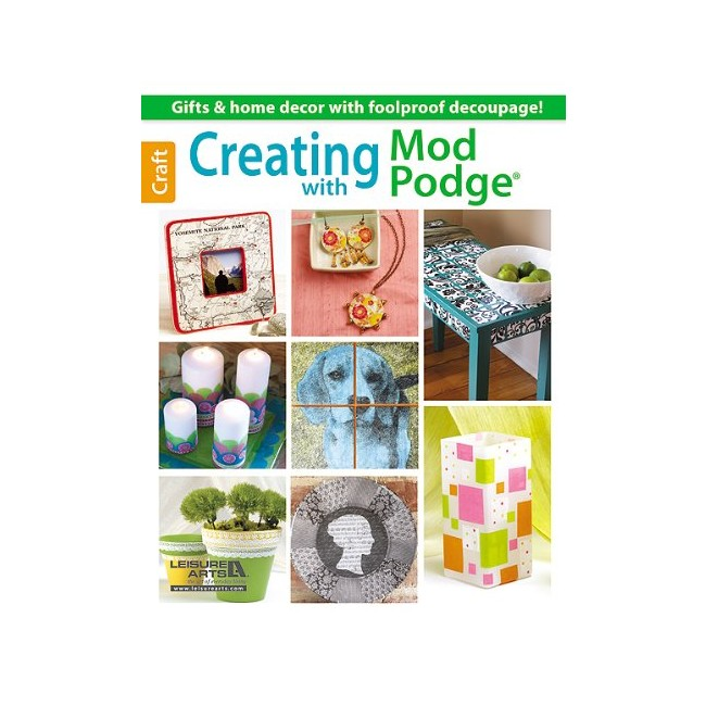 Libro Creating with Mod Podge