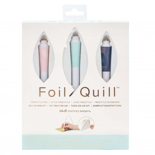 Kit inicio Freestyle Foil Quill We R Memory Keepers