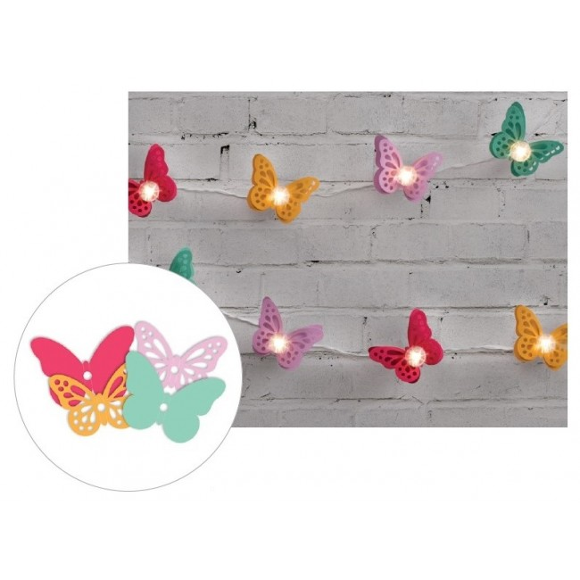 Bright Butterflies Die Cut Diy Party