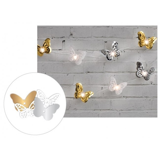 Metallic Butterflies Die Cut Diy Party