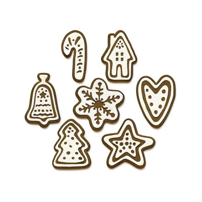 Troquel Christmas Cookies by Tim Holtz