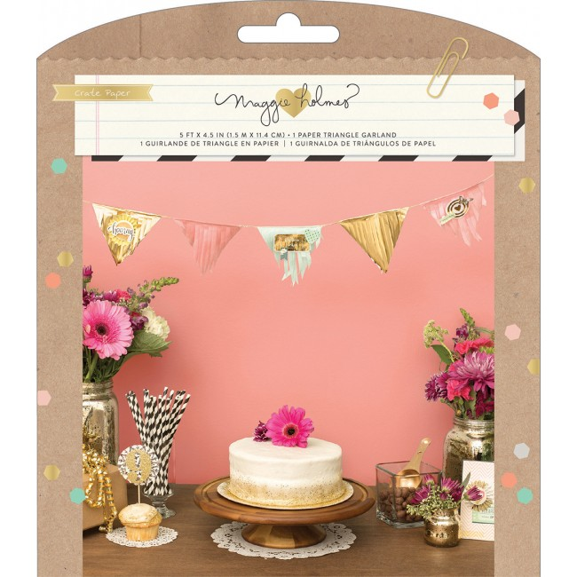 Confetti Fringe Garland Party Kit