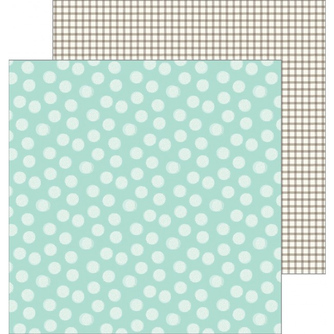 Papel Estampado Doble Cara 12x12 - Patio Party - Breezy