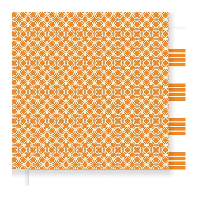 Papel estampado Doble cara 12x12-Everyday-Citrus