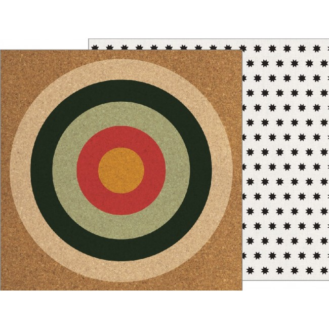 Papel Estampado Doble cara 12x12 - Warm & Cozy - On Target