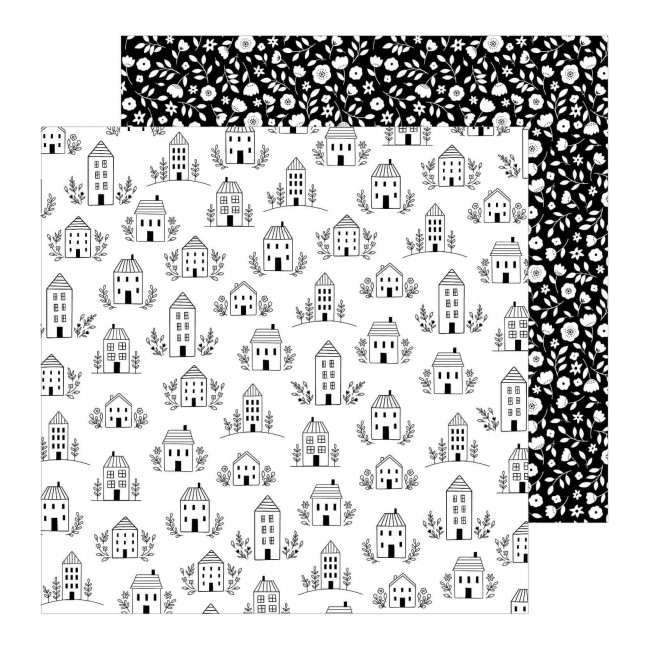 Papel Estampado Doble Cara 12x12 This Is Family Home Sweet Home
