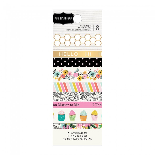 Set de Washi Tape Hey, Hello! Jen Hadfield