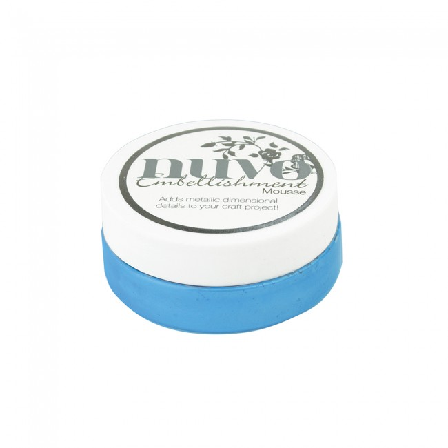 Embellishment Mousse Cornflower Blue