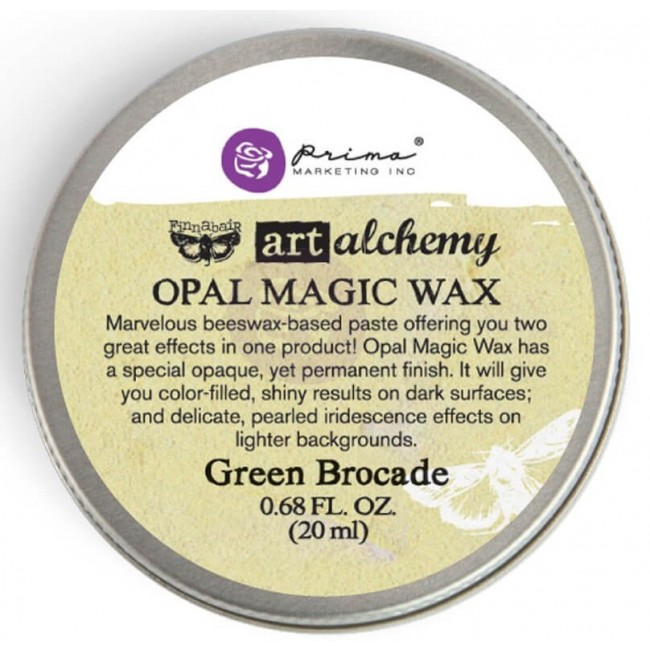 Cera Opal Magic Wax - Green Brocade