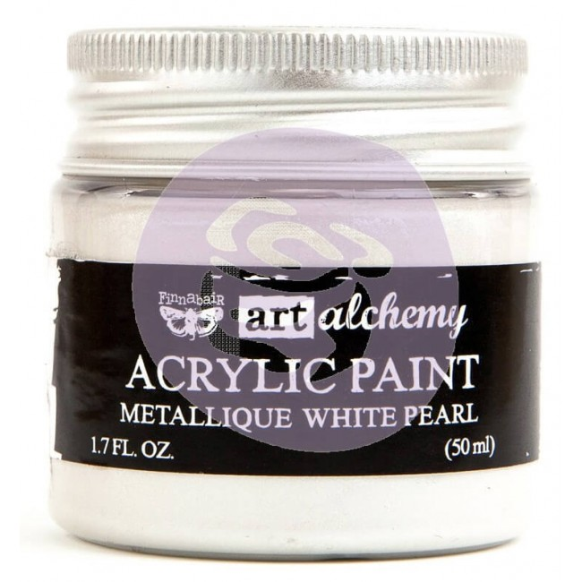 Pintura acrílica Art Alchemy - Metallique White Pearl