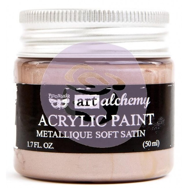 Pintura acrílica Art Alchemy - Metallique Soft Satin